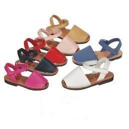96a645bd Menorquinas niña baratas. Sandalias para niña bonitas.|zapatitosdealba