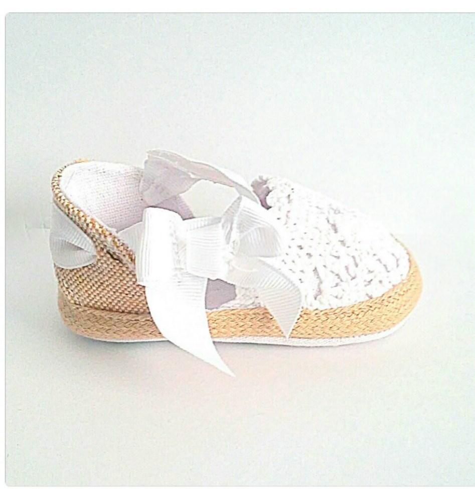 Alpargatas bebé Espartinas Blanca (4)