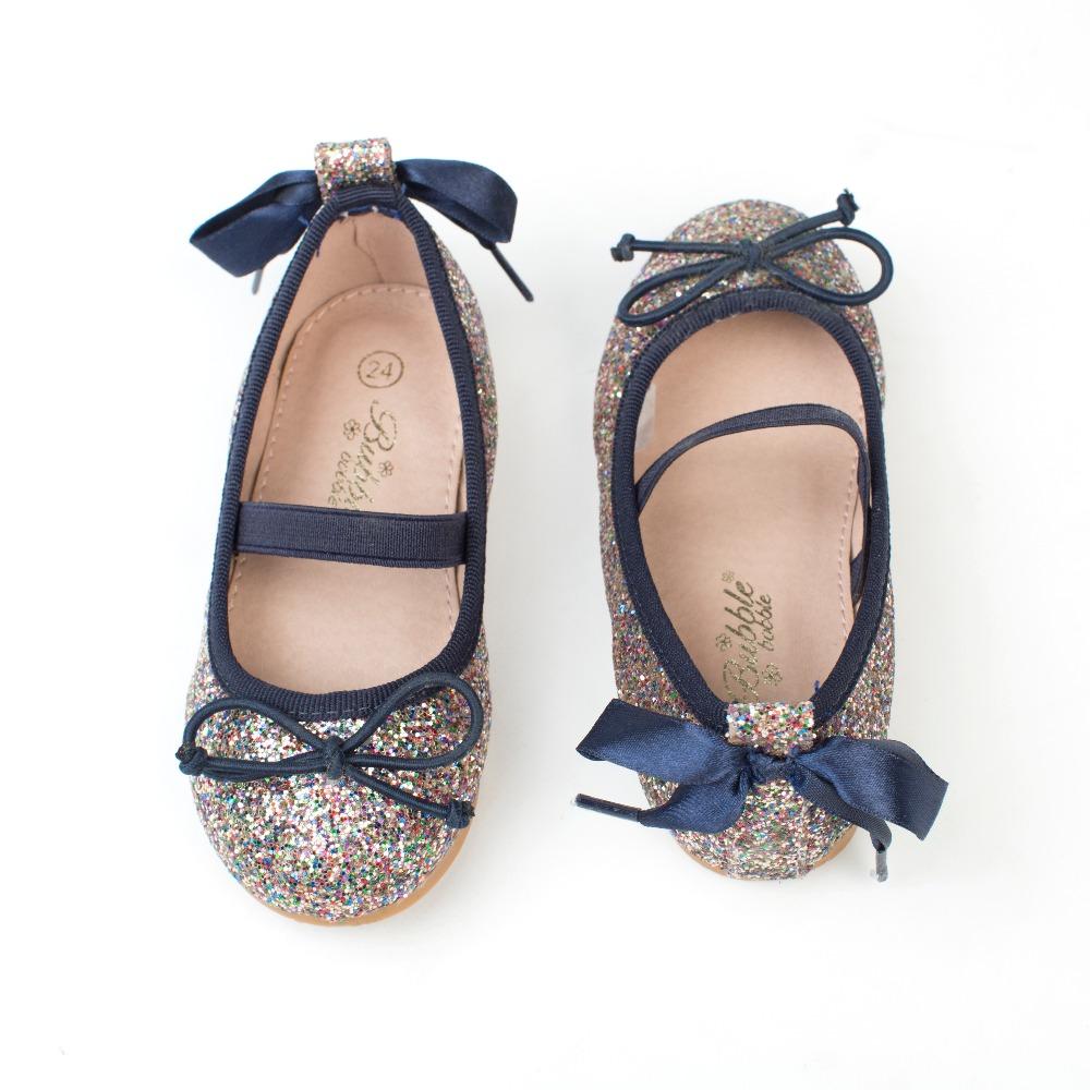 ... Bailarinas niña azul marino glitter modelo Alegría (1) ... 8ad62b34bf34