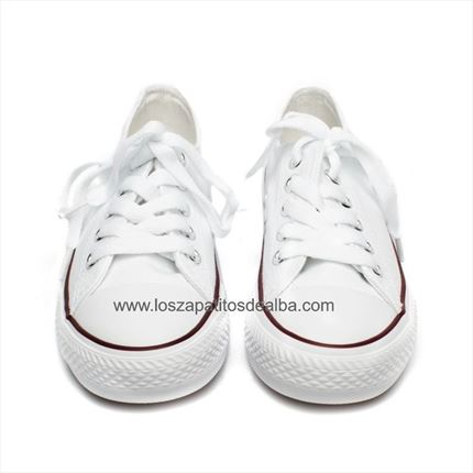 zapatillas niña lona converse