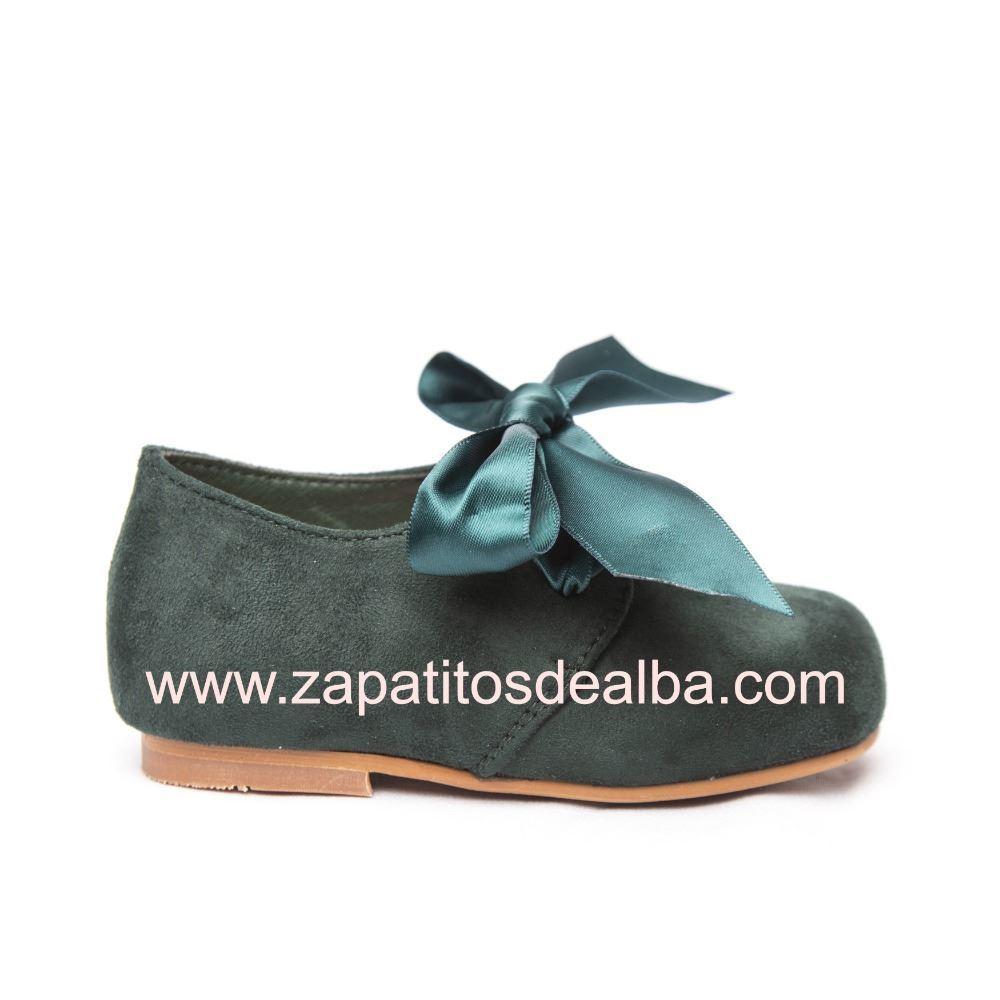 de3dd4965 Comprar Zapato Niña Verde Blucher Lazo Baratos