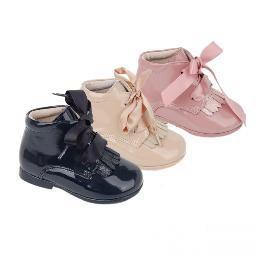 6f8f1812c Comprar botas niña camel charol modelo texas baratas