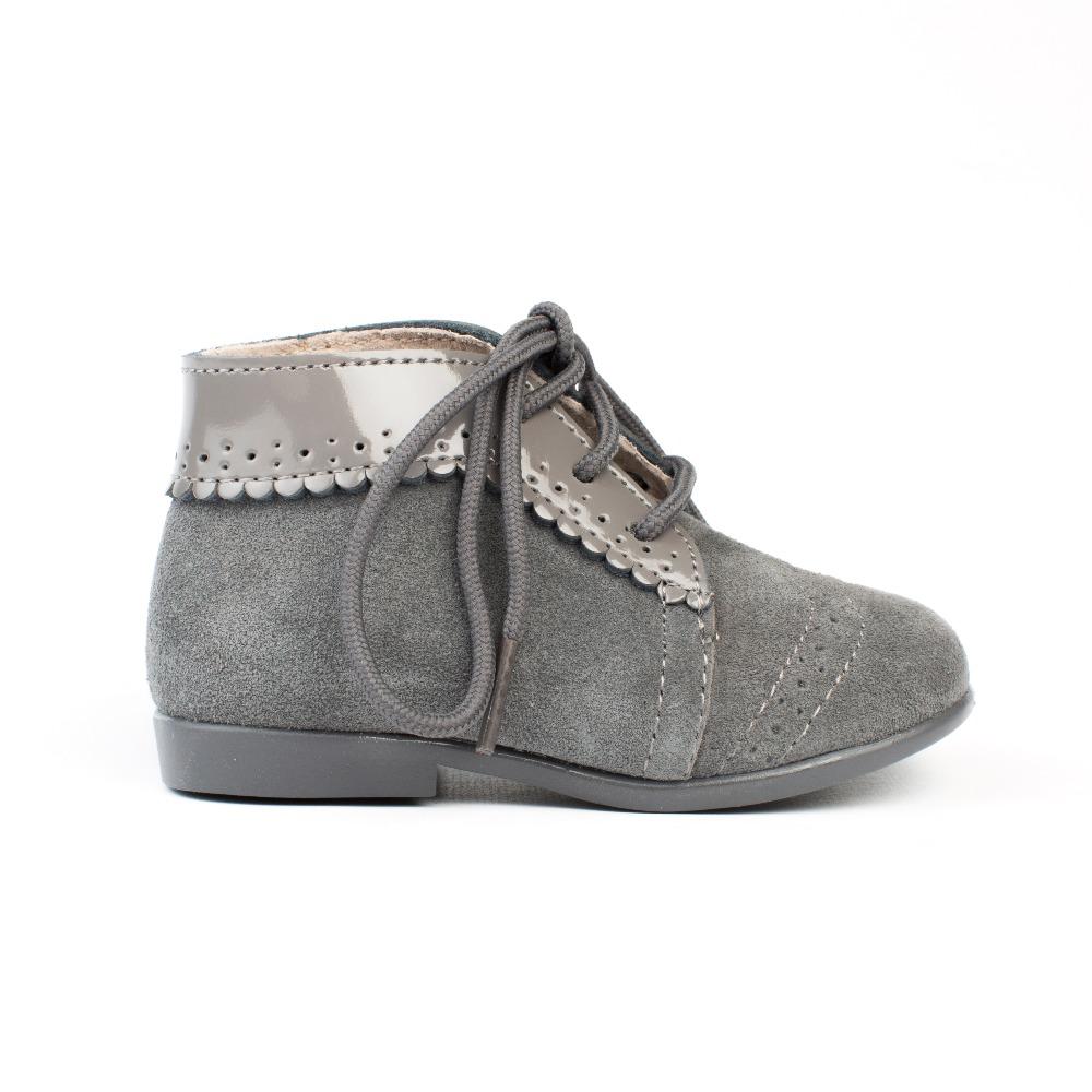 b41122fdd37 Comprar botas bebe grisl modelo Oxford baratas