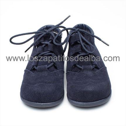 71d3fca45 ... Comprar Botas Inglesito Azul marino Primeros Pasos baratos