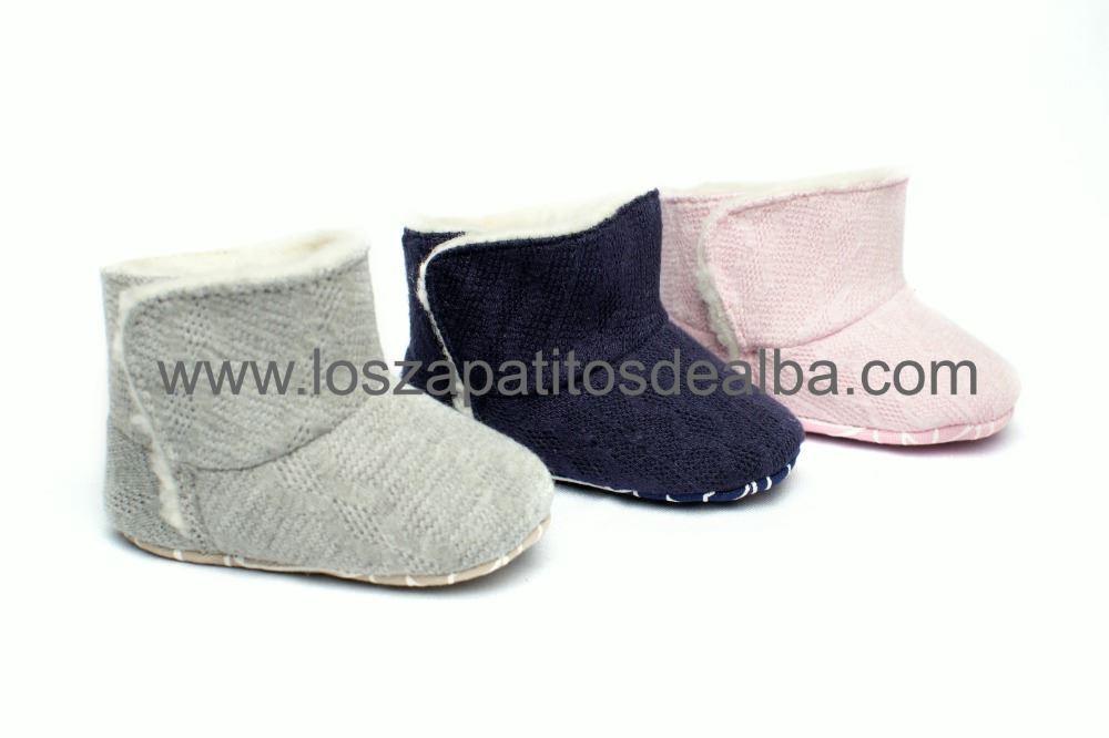 4bd79acb74d Comprar botas bebe azul marino sin suela Modelo Nancy baratas