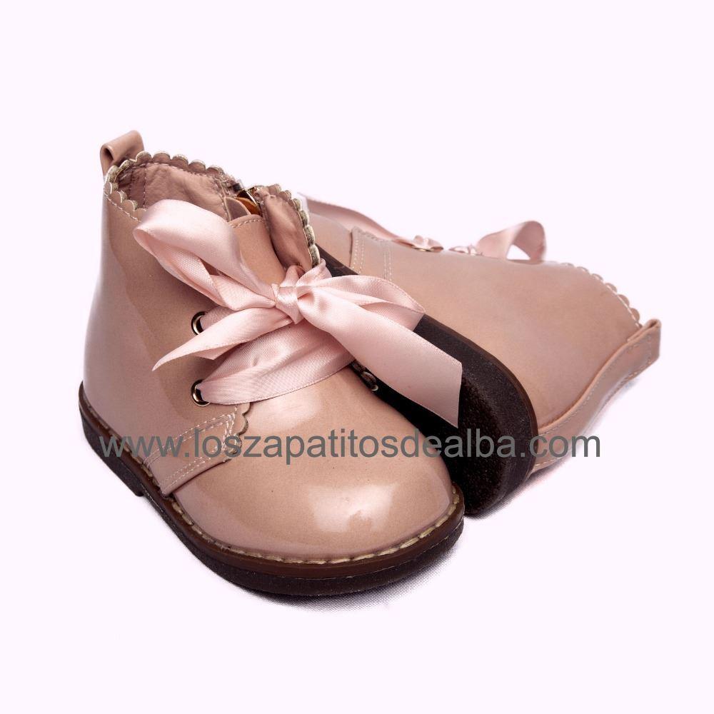 Botas Niña Modelo Charol Zara Rosa USVpqzM