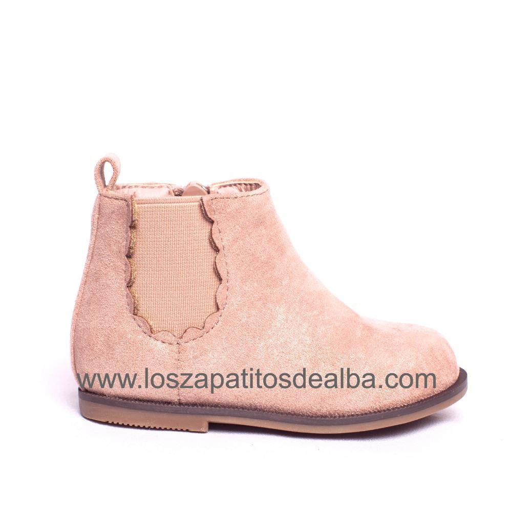 comprar online como escoger estilos clásicos Botas Niña Rosa Modelo Blonda