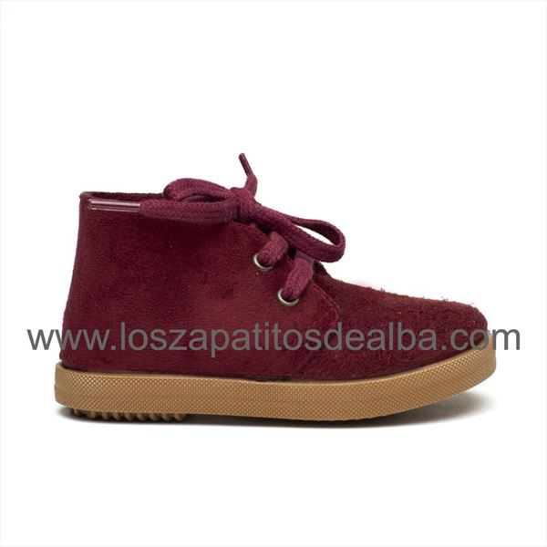 Botas Safari Burdeos