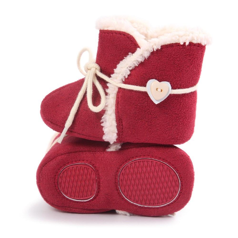 b09460433 Comprar Botas bebé niña Burdeos para invierno y baratas