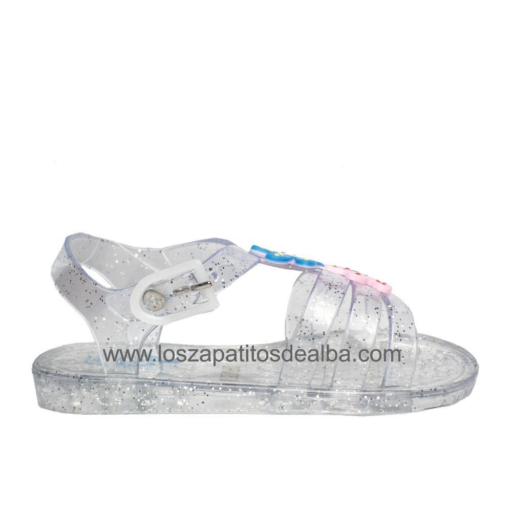 94b3e23bc8f Comprar Sandalias Niña Playa Transparente Modelo Zitica baratas