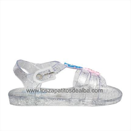 6da9c60d285 Comprar Sandalias Niña Playa Transparente Modelo Zitica baratas