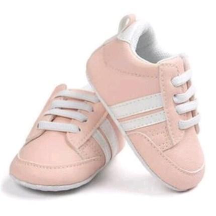 50150b72b Comprar Zapatillas Deportivas bebé niña rosa y blanca baratas ...
