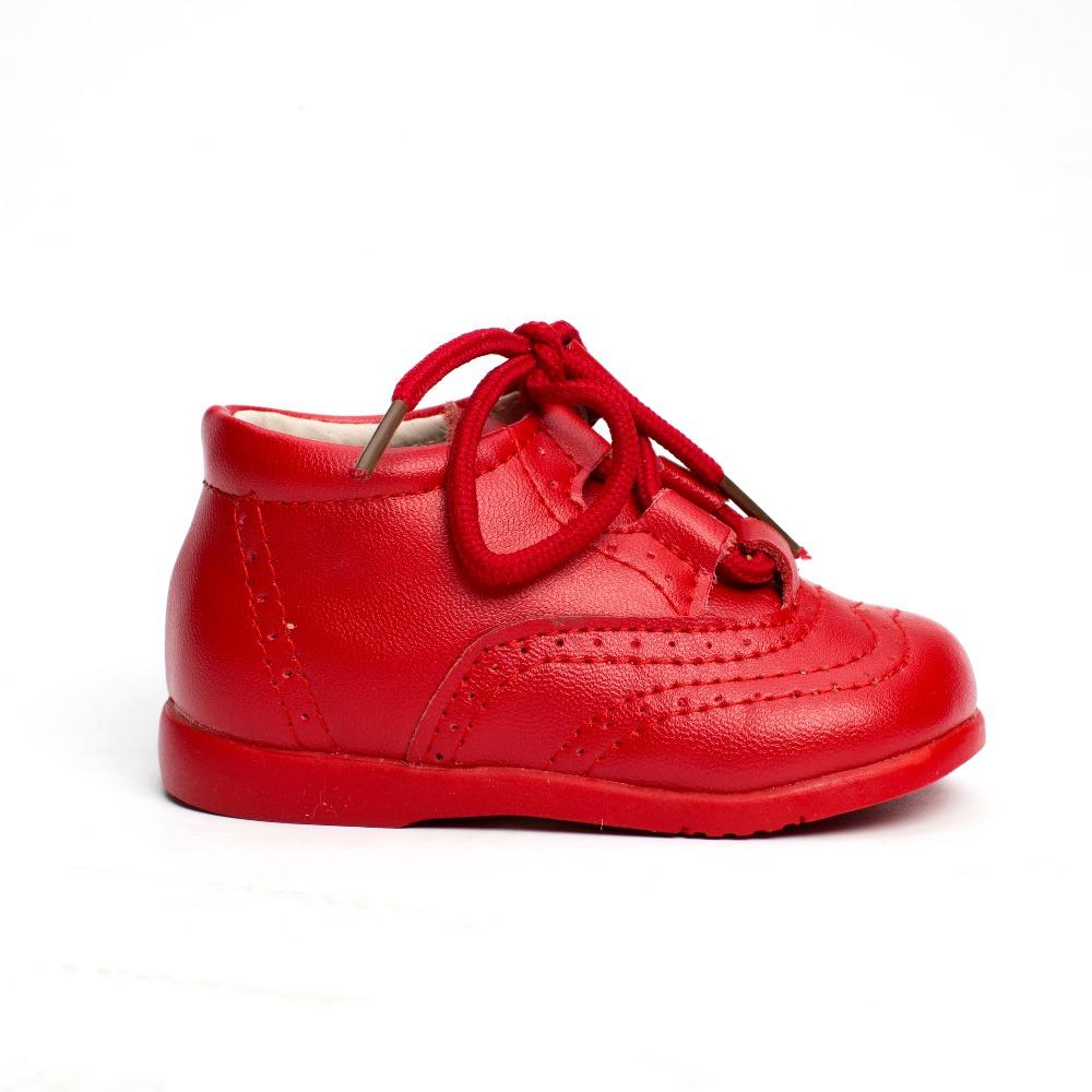 ffe02cde497 Zapatos bebé Inglesito Primeros Pasos Piel Rojo baratos