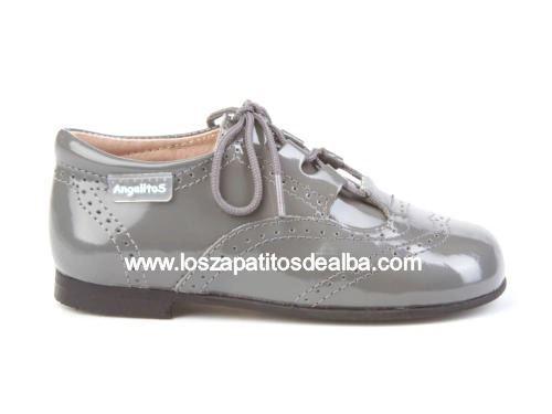 7a2c53182 Comprar Inglesitos gris charol Marca Angelitos baratos