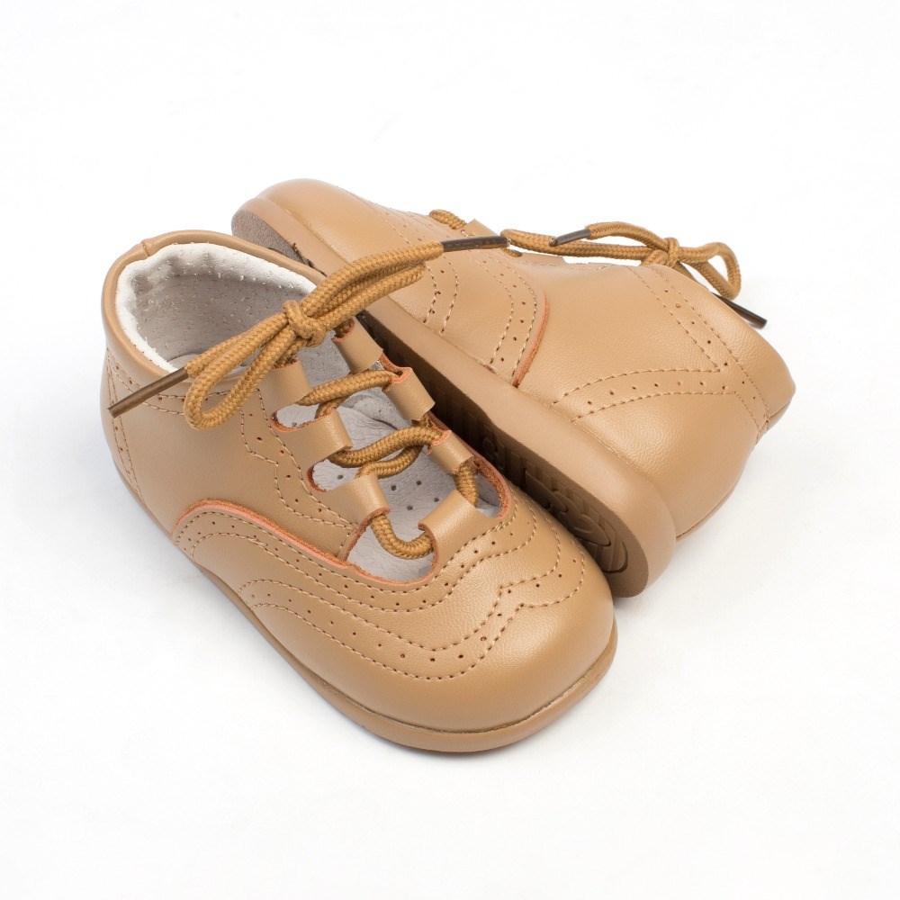 eca2ab221 Comprar Zapatos Primeros Pasos Bebé Inglesito Piel Camel