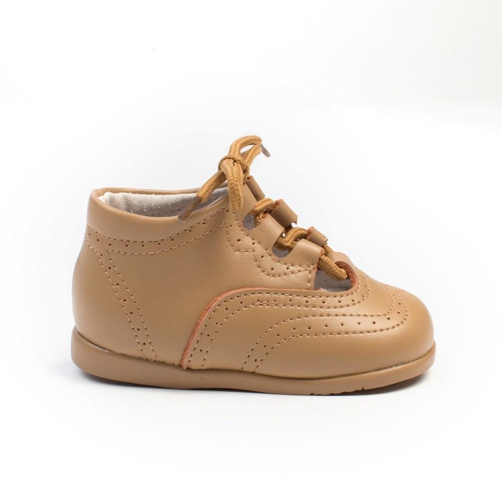 5ad9ee90baa Comprar Zapatos Primeros Pasos Bebé Inglesito Piel Camel