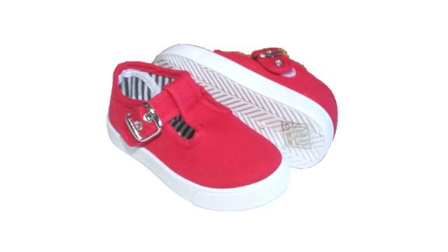 e48e9b38b Comprar Zapatillas Niño Lona roja modelo Pepito baratas