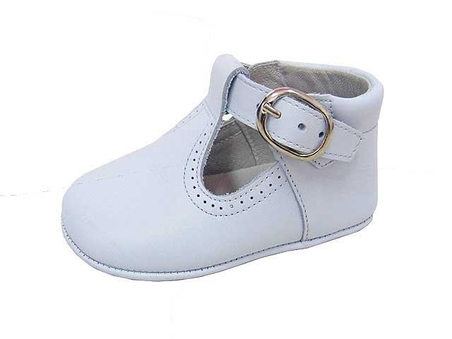 6ca7a9a1 Comprar zapatos Pepito bebe piel blanco Angelitos muy baratos