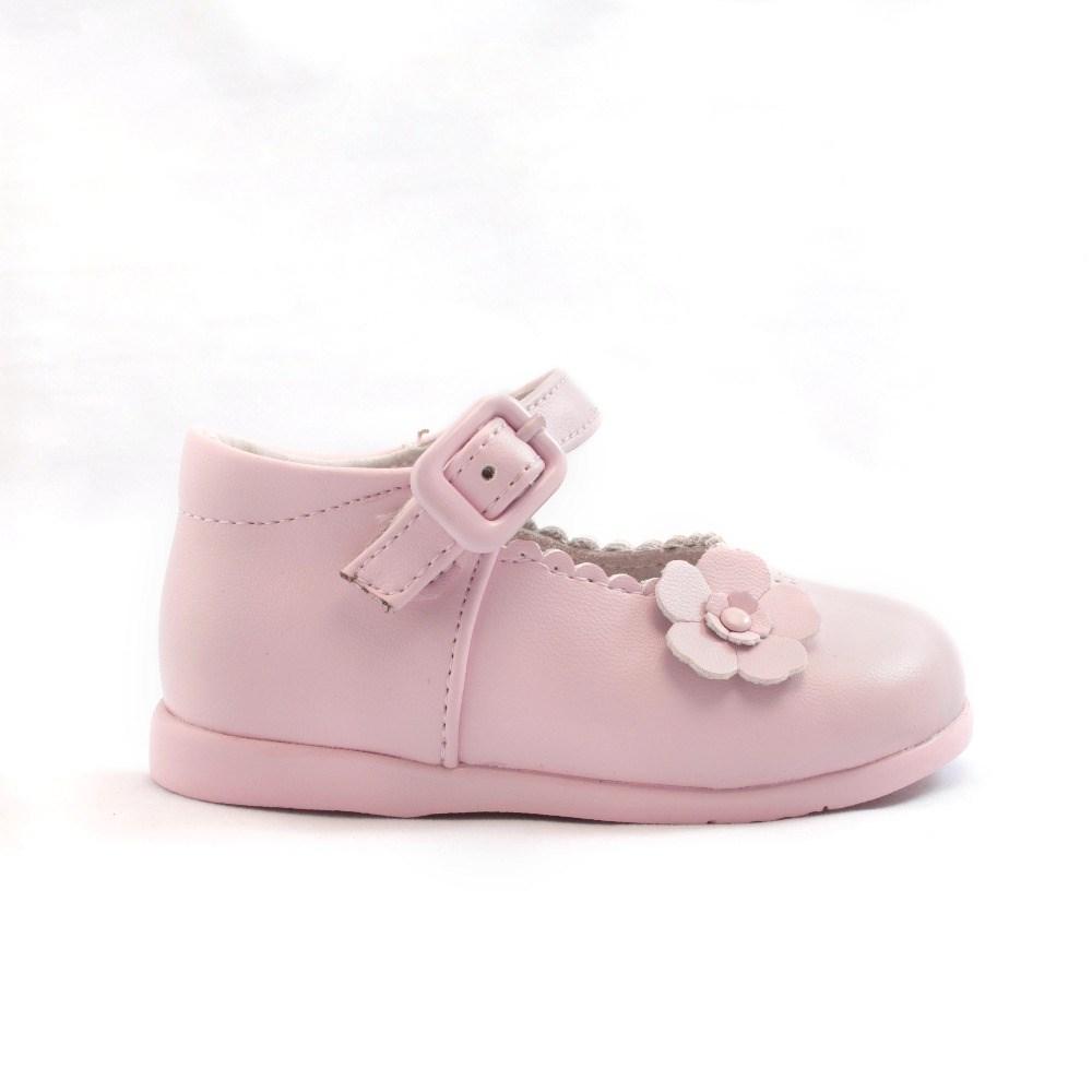 7ea52c60790 Comprar Merceditas bebé niña primeros pasos rosa modelo Flor