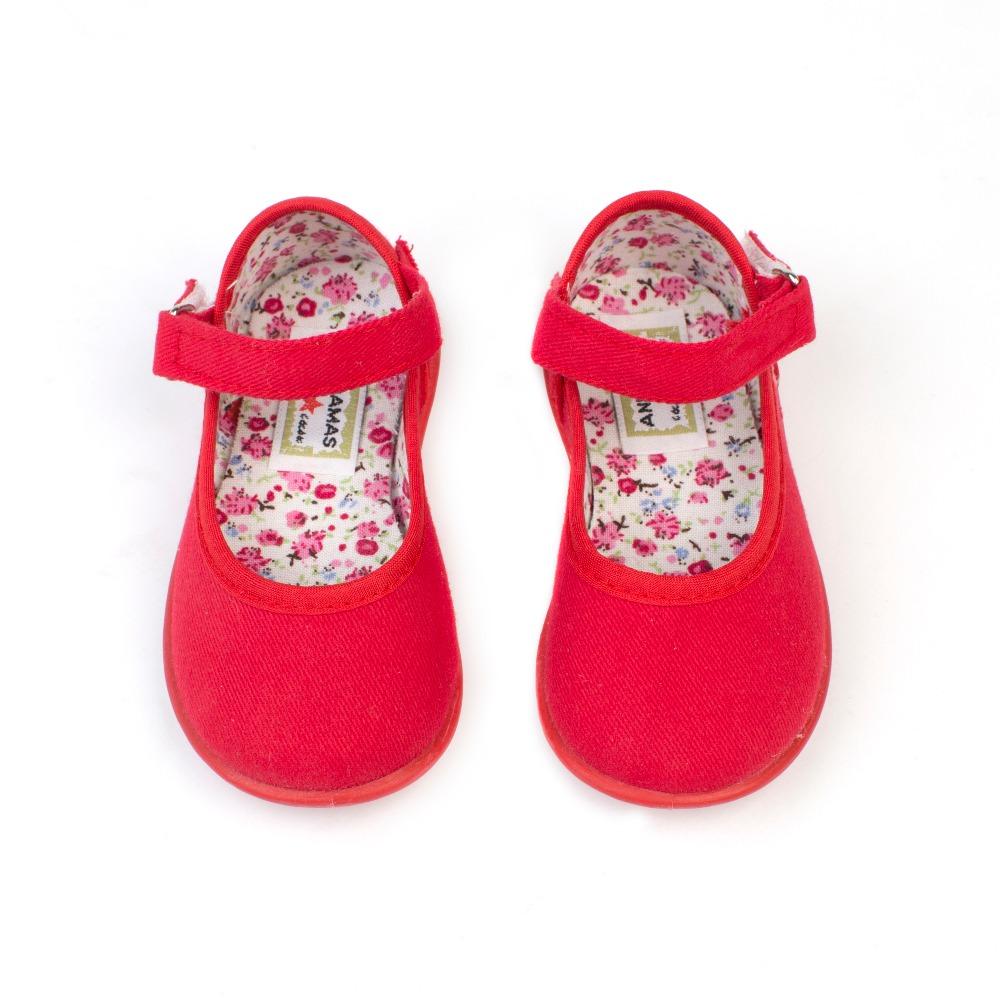 0c59253bf89 Comprar Merceditas lona niña baratas modelo ballet