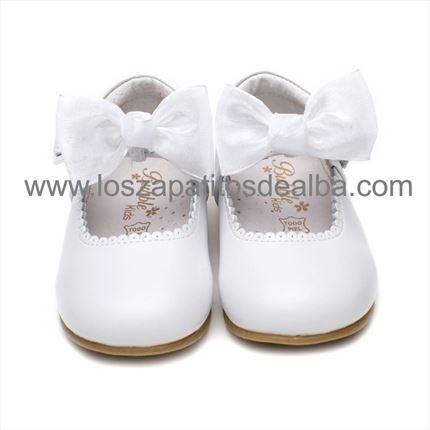 9d7f2f8e1 ... Merceditas Niña Blancas Modelo Elena Baratas