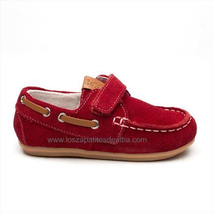 b4cf2d4cf Comprar Náuticos rojo modelo velcro baratos