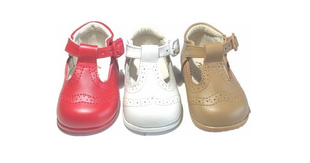 0ab20d94d ... Zapatos Pepito Primeros Pasos Bebé Blanco Troquelado Inglés (3)