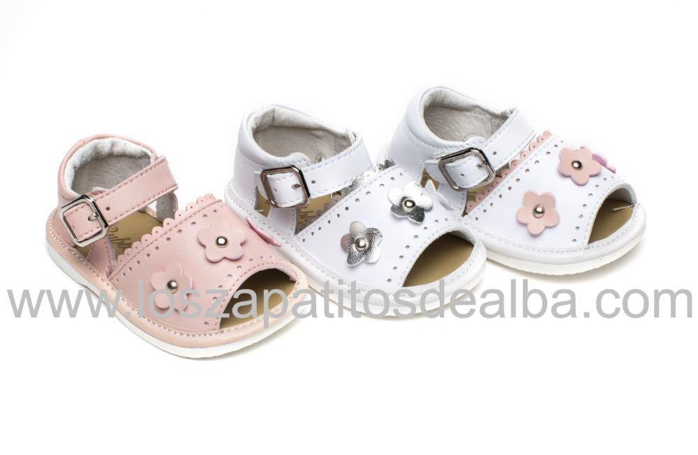 5cdd6449 Sandalias Bebe Blancas y Plata. Sandalias Para Bebés Baratas ...