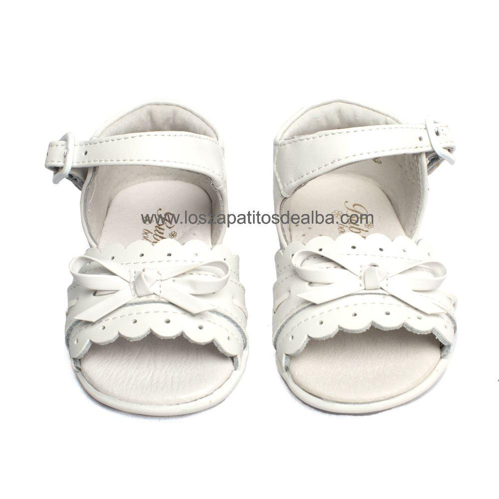 3215b3698 Sandalias Bebé Niña Blanca Modelo Bimba baratas
