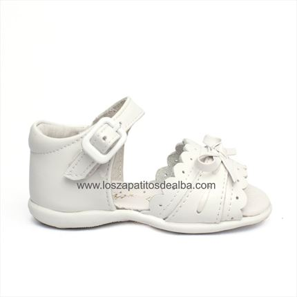 4f50346c7 Sandalias Bebé Niña Blanca Modelo Bimba baratas