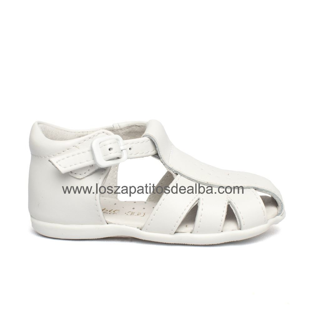 d4bfa0460 Comprar Sandalias Niño Blancas Cangrejeras Modelo Richard baratas