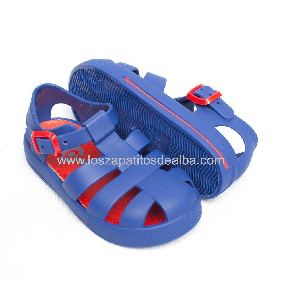 435652be Sandalias Playa Azul Modelo Blair