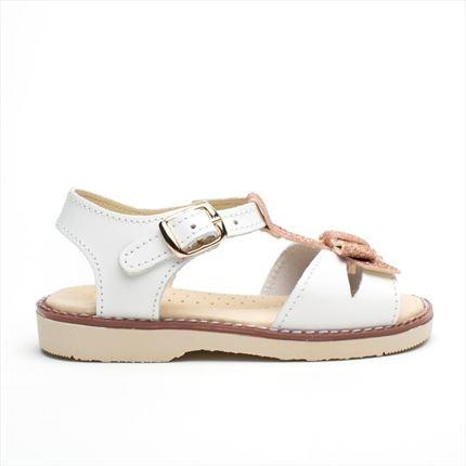 f2d04a35b Sandalias Niña Blancas Elegantes. Precios Baratos. Made Spain
