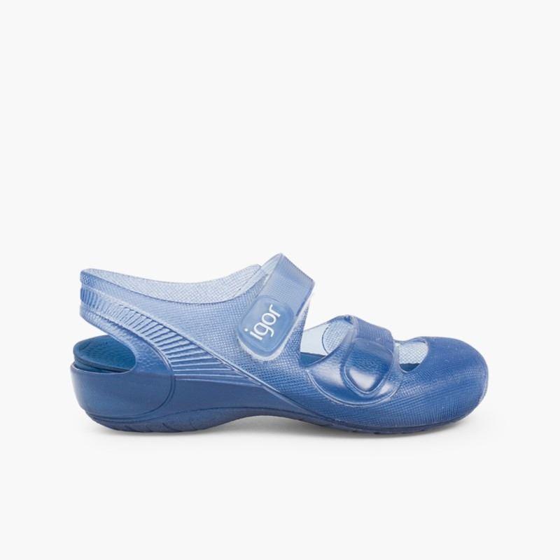 0545371f3 Sandalias Playa Azul. Tus Igor Baratas. Modelo Bondi. Zapatitos Alba