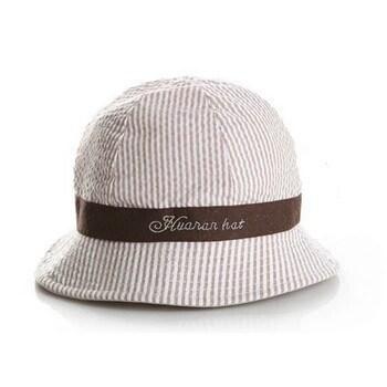 Sombrero playa bebe pesquero marrón ba67fcb3240