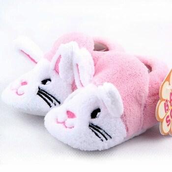 Zapatillas de estar por casa beb ni a baratas conejo - Zapatillas de estar en casa de nina ...