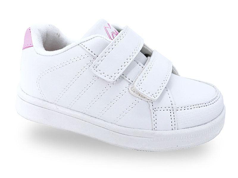 af1373bb3 Zapatillas Deportivas bebé niña blanca Demax baratas|zapatitos de Alba