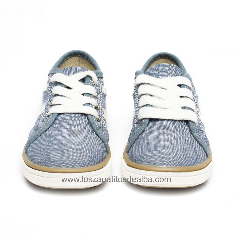 150897f41 Zapatillas lona niño Jeans Casual  Zapatillas lona niño Jeans Casual (1) ...