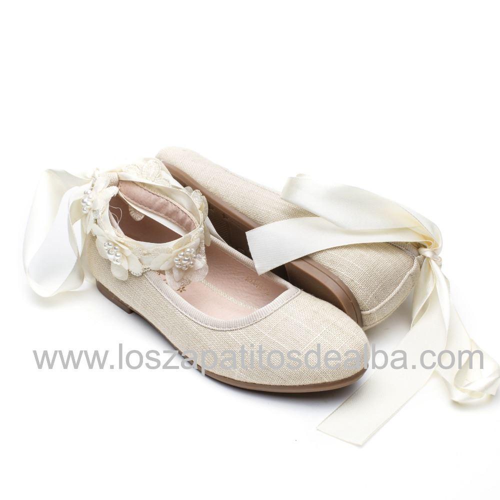4532132d8 Comprar Zapato Niña Ceremonia Beige.Zapatos Comunion Baratos ...