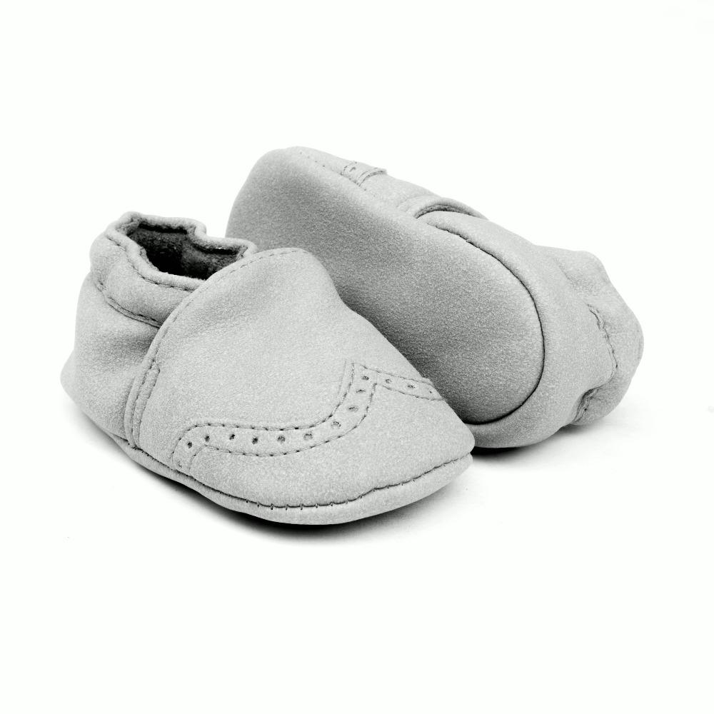 27e87b1d100bd ... Zapatos bebe gris modelo Patuky (2) ...