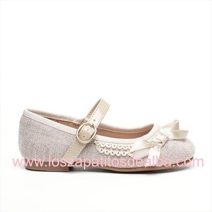 009a68937 Comprar Zapatos Ceremonia Niña Beige Baratos ...