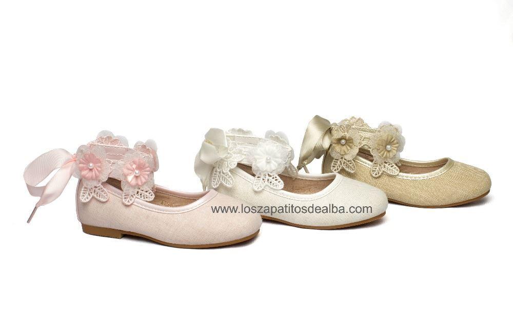 041735baee0 Comprar Zapatos niña Ceremonia Beige modelo Princess baratos