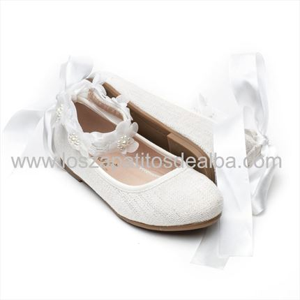 Merceditas Ceremonia Niña Blanco. Zapatos Ceremonias baratos|zapatitos de Alba