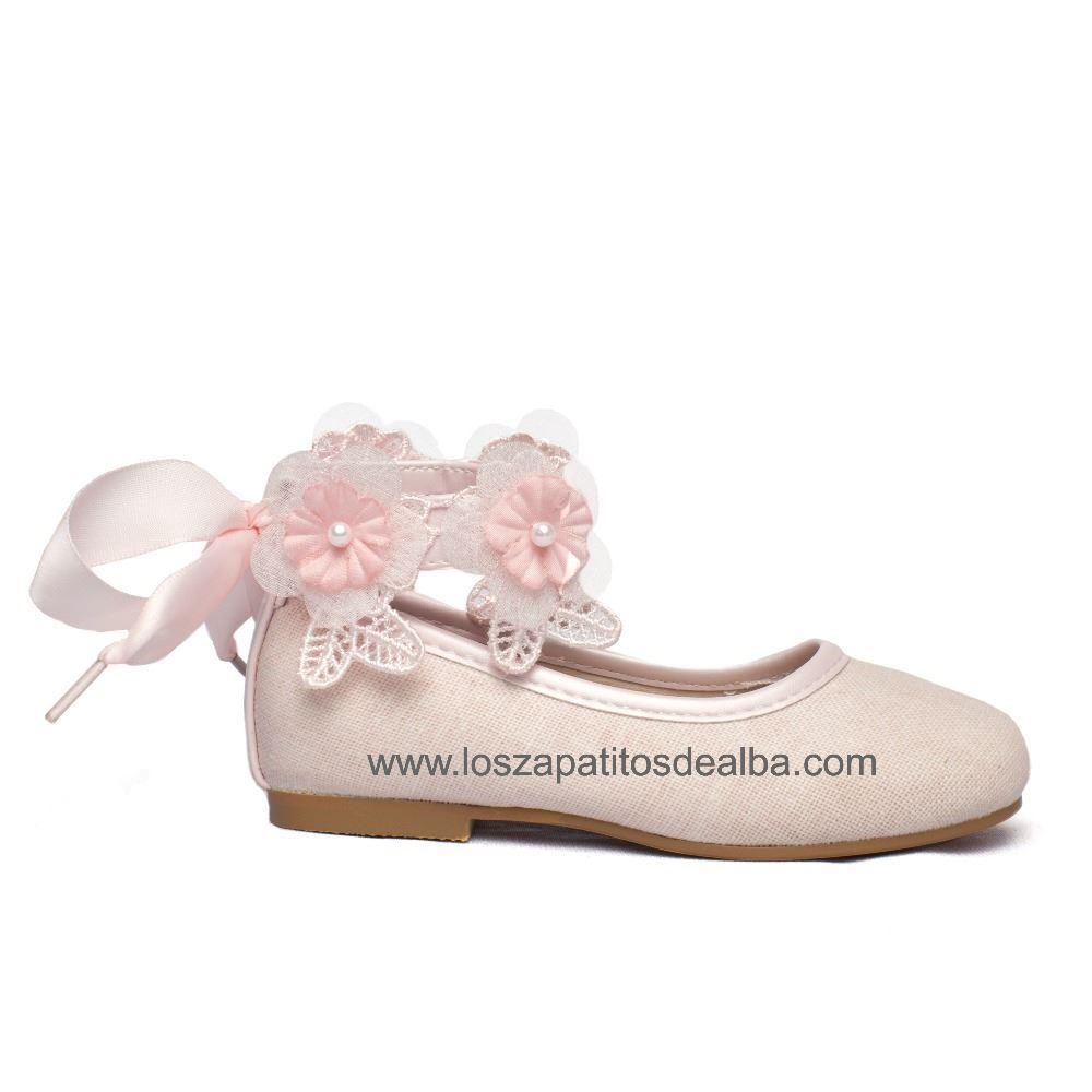 cf029368bbc Comprar Merceditas niña Ceremonia Nude. Zapato Comunión Baratos ...