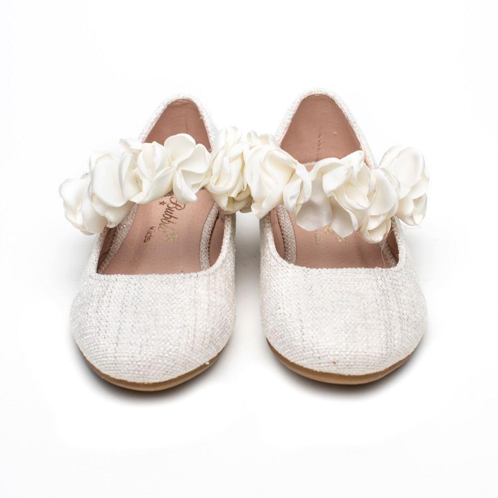 nueva productos afabc 04383 Zapatos Comunión Niña Beige Modelo Tiara