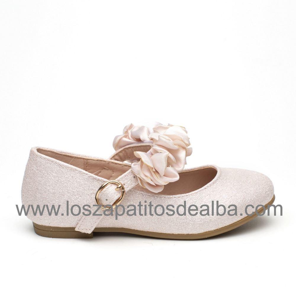 e1b8ccf102d Comprar Zapatos Comunion Niña Nude Modelo Tiara|zapatitosdealba
