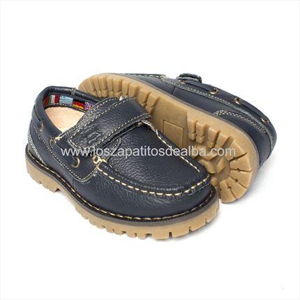 88d60e2a2 ... Zapatos Náuticos NIño Azul Marino piel baratos