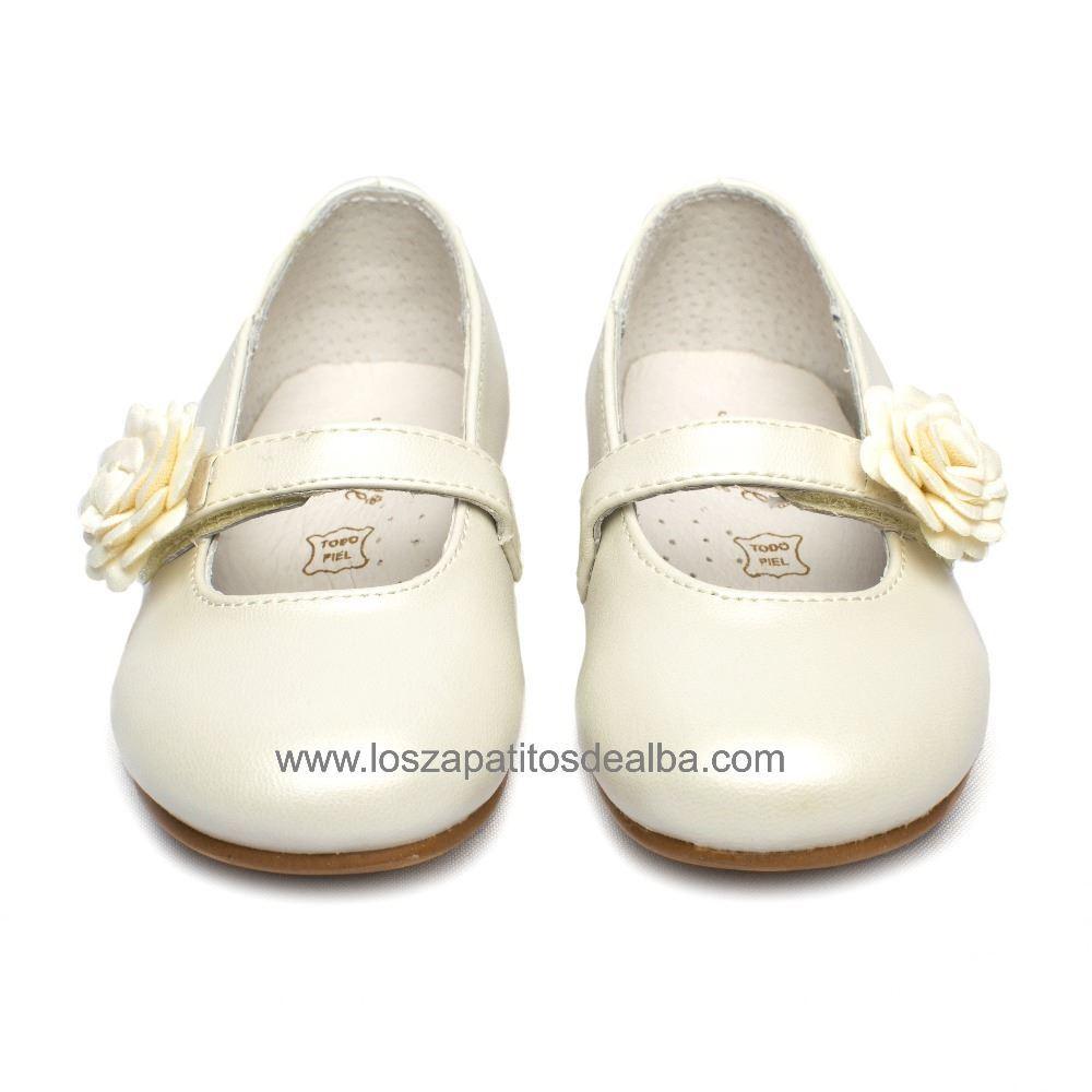 e1d43838c36 Zapatos niña ceremonia beige modelo Dulce baratos