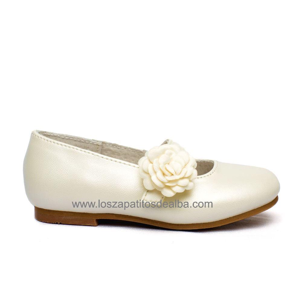 0676142a0 Zapatos niña ceremonia beige modelo Dulce baratos