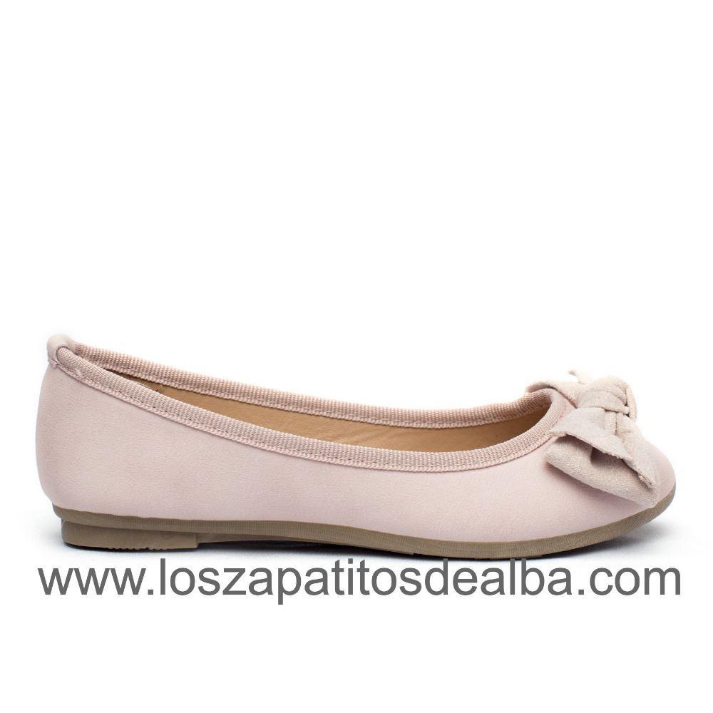 a53c2fa1857 Zapatos Comunion Niña Rosa Baratos